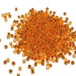 MIYUKI Delica 10-0 Silver Lined Orange 10g