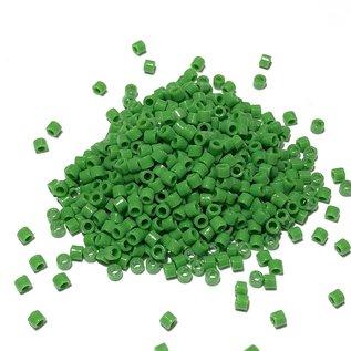 MIYUKI Delica 10-0 Opaque Pea Green 10g