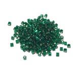 TOHO TOHO Hex 11-0 Silver Lined Green Emerald 20g Tb