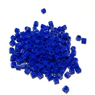 TOHO Hex 8-0 Opaque Navy Blue 20g Tb
