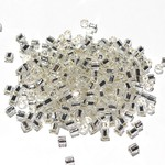 TOHO Hex 8-0 Silver Lined Crystal 20g Tb