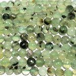 PREHNITE Natural 8mm Faceted
