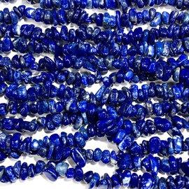 "LAPIS LAZULI Natural Chip Beads 15"" Strand"
