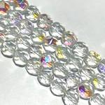 MATUBO Firepolish Crystal AB 6mm