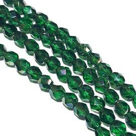 MATUBO Firepolish Celsian Emerald 6mm