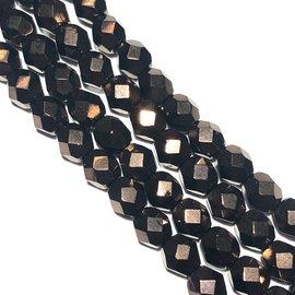 MATUBO Firepolish Dark Bronze 6mm