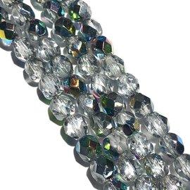 MATUBO Firepolish Crystal Vitral 6mm