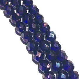MATUBO Firepolish Cobalt Vega 6mm