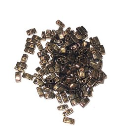 MIYUKI Tila Half Cut Bronze Metallic 10g