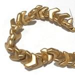 MATUBO Chevron Bronze Pale Gold