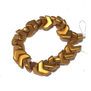 MATUBO Chevron Bronze Gold