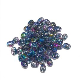 SuperDuo Crystal Magic Blue Pink 22.5g Tube