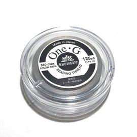 TOHO One-G Thread Light Grey 125yd
