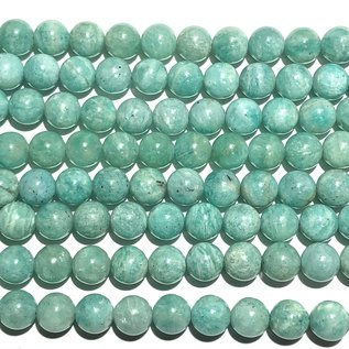 Amazonite (Russian Variety) 7mm Round