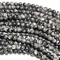 Larvakite Round Beads 6mm Natural