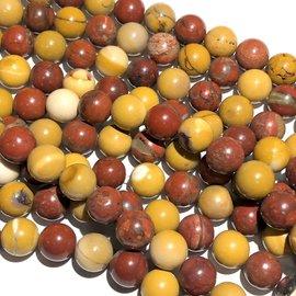 MOOKAITE Natural Round Beads 10mm