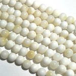 Mother of Pearl Natural 8mm Round