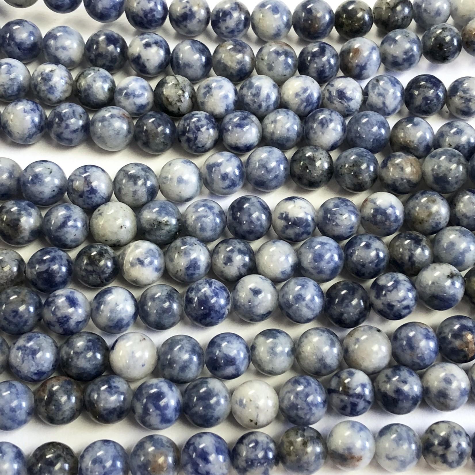 BLUE SPOT Stone (Sodalite) 8mm Round