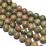 Natural UNAKITE 8mm Round