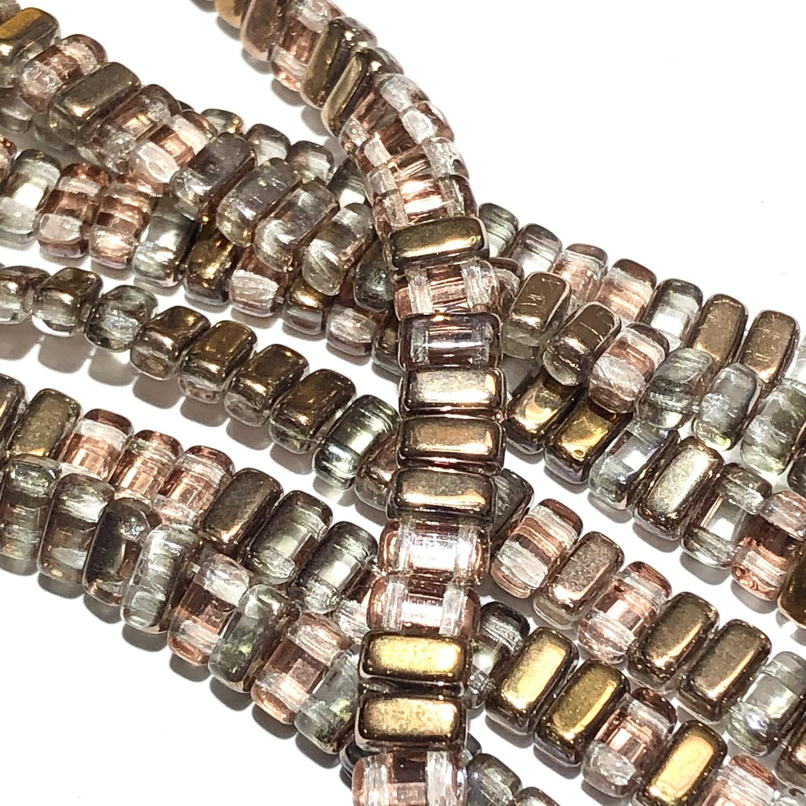 CzechMates BRICKS Crystal Apollo Gold