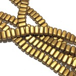 CzechMates BRICKS Matte Metallic Goldenrod