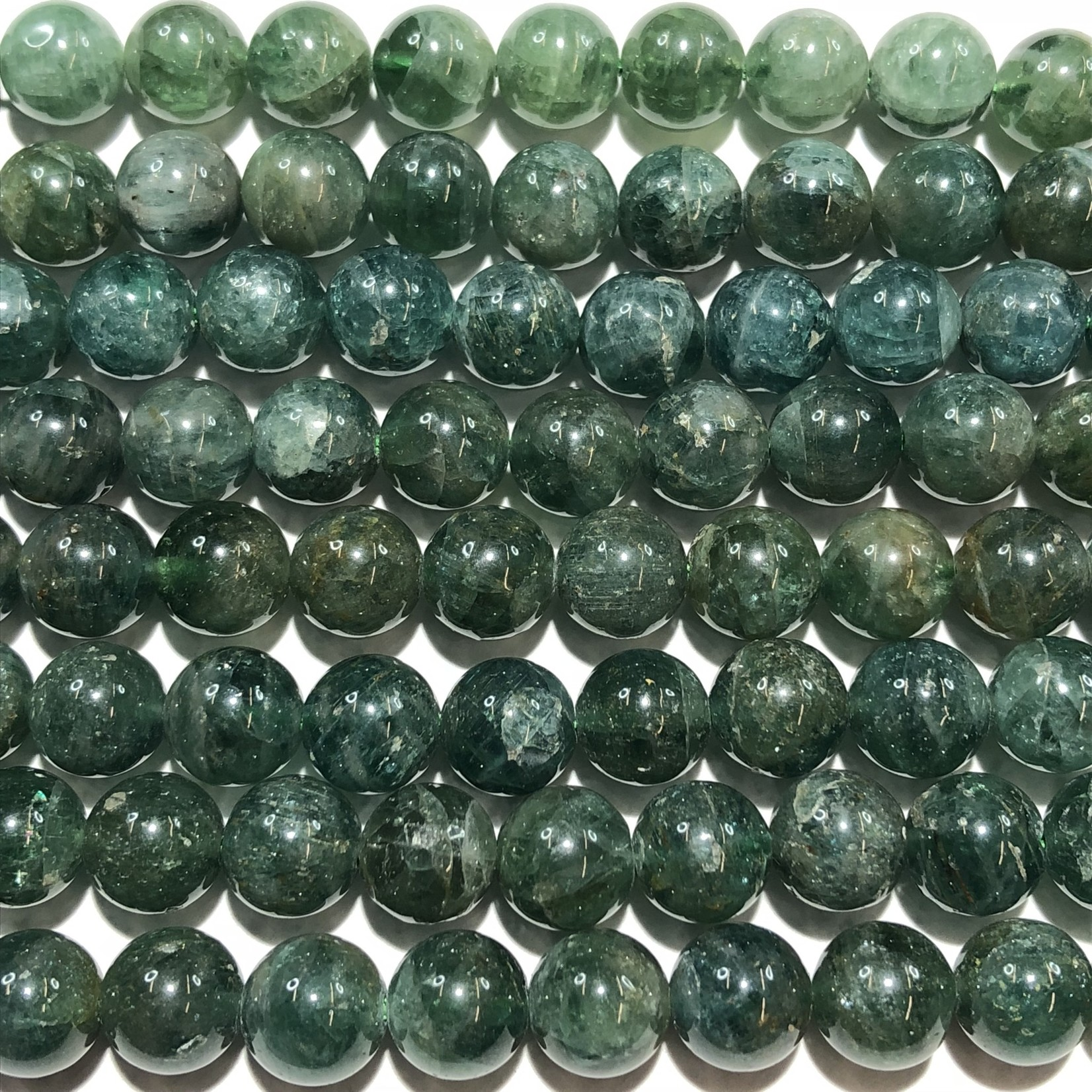 APATITE Natural Green Grade A 8mm Round