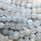 Blue Chalcedony Natural 8mm Round