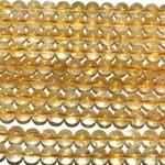 CITRINE Grade A Natural 6mm Round