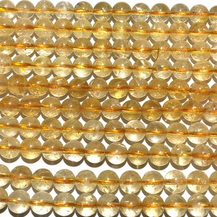 CITRINE Grade A Natural 6mm Round
