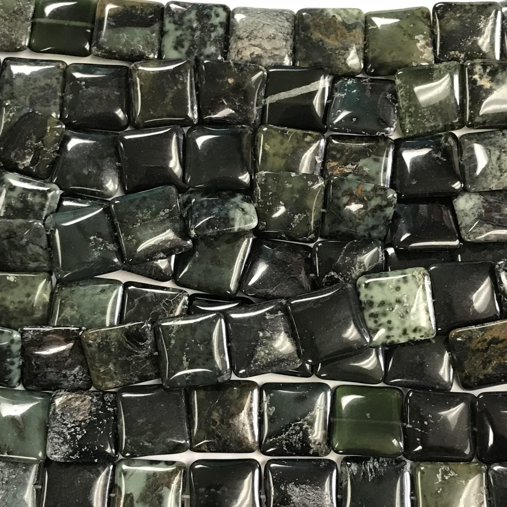 Australian Nephrite Jade Grade A 18mm Square