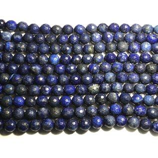 Lapis Lazuli 8mm Faceted