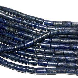 Lapis Lazuli 8 x 12mm Column Beads Natural Dyed