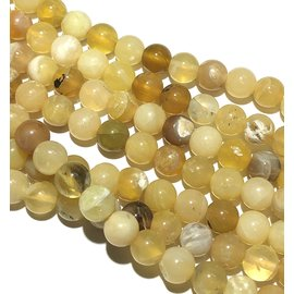 YELLOW OPAL Natural 6mm Round