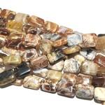 BRANDY OPAL Natural 14 x 10mm Rectangles