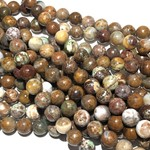 Natural African Green OPAL 8mm Round