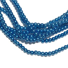PRECIOSA Crystal Pearls 2mm Persian Blue 150/Str