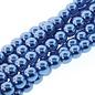 PRECIOSA Crystal Pearls 8mm Persian Blue 75/Str