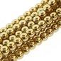 PRECIOSA Crystal Pearls 8mm Gold 75/Str