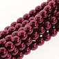 PRECIOSA Crystal Pearls 8mm Burgundy 75/Str