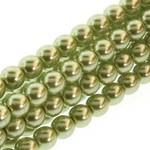 PRECIOSA Crystal Pearls 6mm Olivine 75/Str