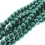 PRECIOSA Crystal Pearls 6mm Deep Emerald 75/Str