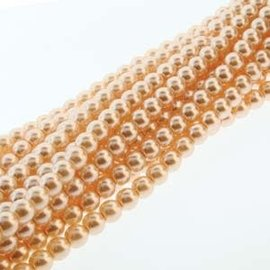 PRECIOSA Crystal Pearls 6mm Pink 75/Str