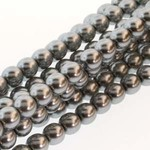 PRECIOSA Crystal Pearls 6mm Silver 75/Str