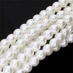 PRECIOSA Crystal Pearls 6mm White 75/Strand