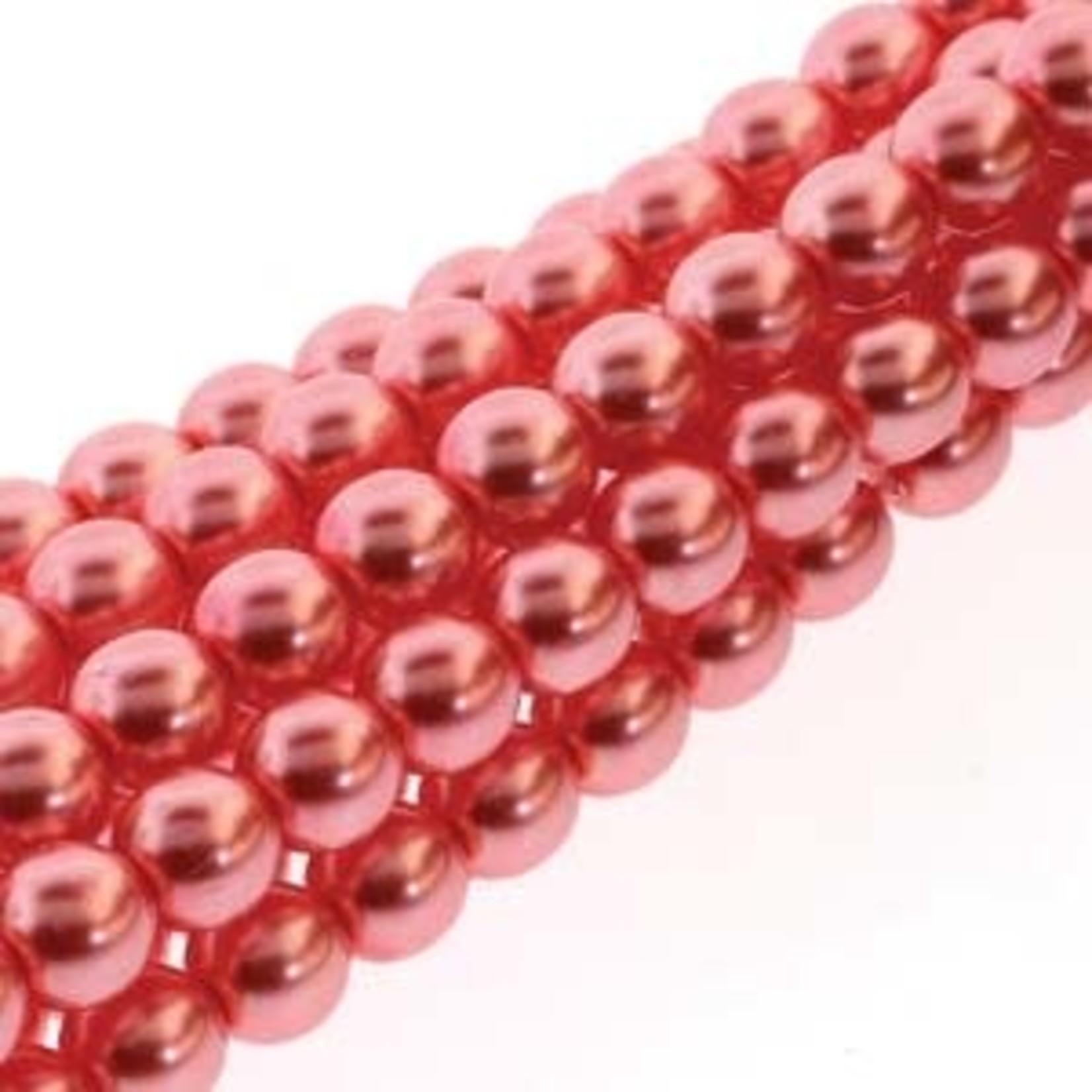PRECIOSA Crystal Pearls 6mm Blush 75/Str