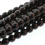 PRECIOSA Crystal Pearls 6mm Black 75/Str