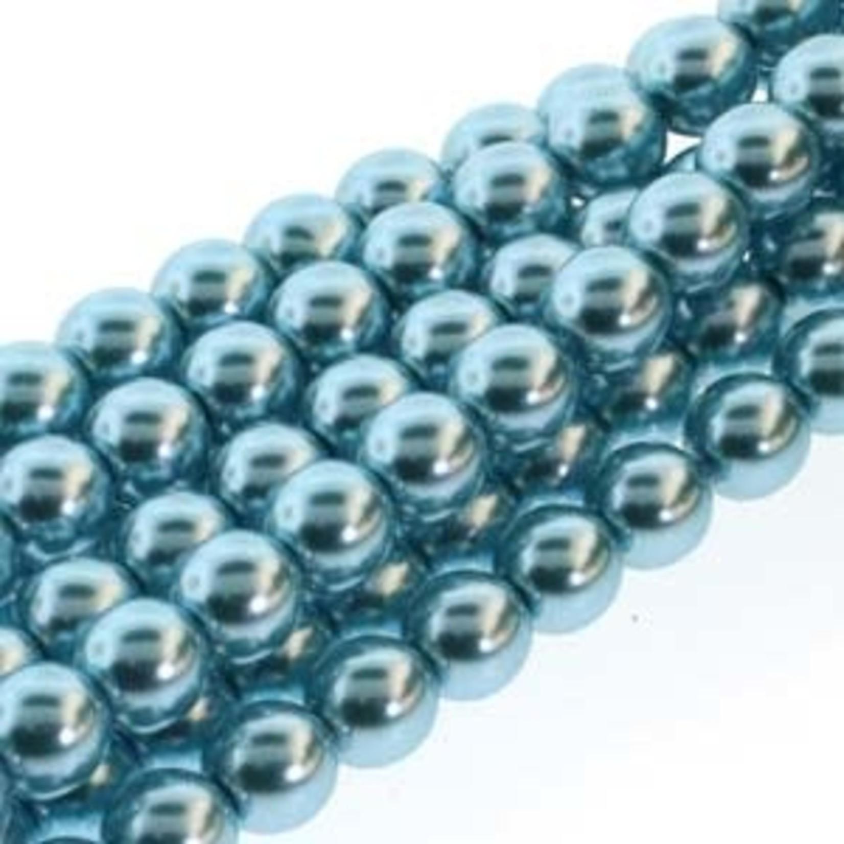 PRECIOSA Crystal Pearls 6mm Cerulean 75/Str