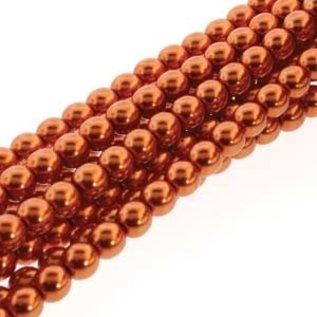 PRECIOSA Crystal Pearls 6mm Copper 75/Str