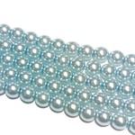 PRECIOSA Crystal Pearls 6mm Light Sapphire 75/Str