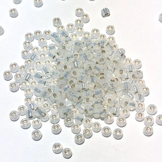 MIYUKI Rocaille 8-0 Silver Lined White Opal 25g